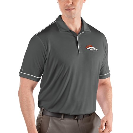 Denver Broncos Antigua Salute Polo - Steel/White