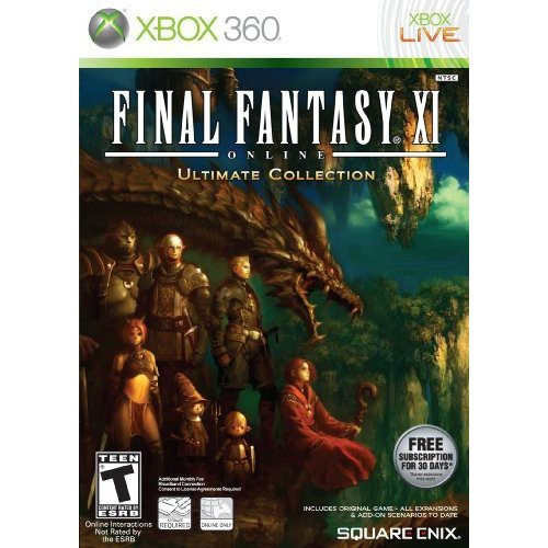 Final Fantasy XI Online: Ultimate Collection - Xbox 360