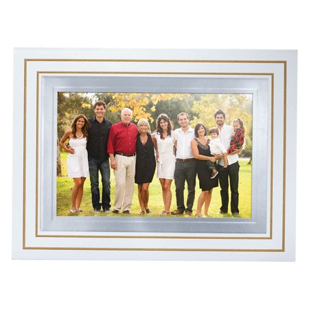 Simply Classic White Photo Christmas Card, Set of 18 ()