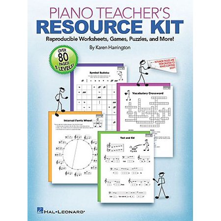 Piano Teacher's Resource Kit : Reproducible Worksheets, Games, Puzzles, and - Halloween Worksheet Games