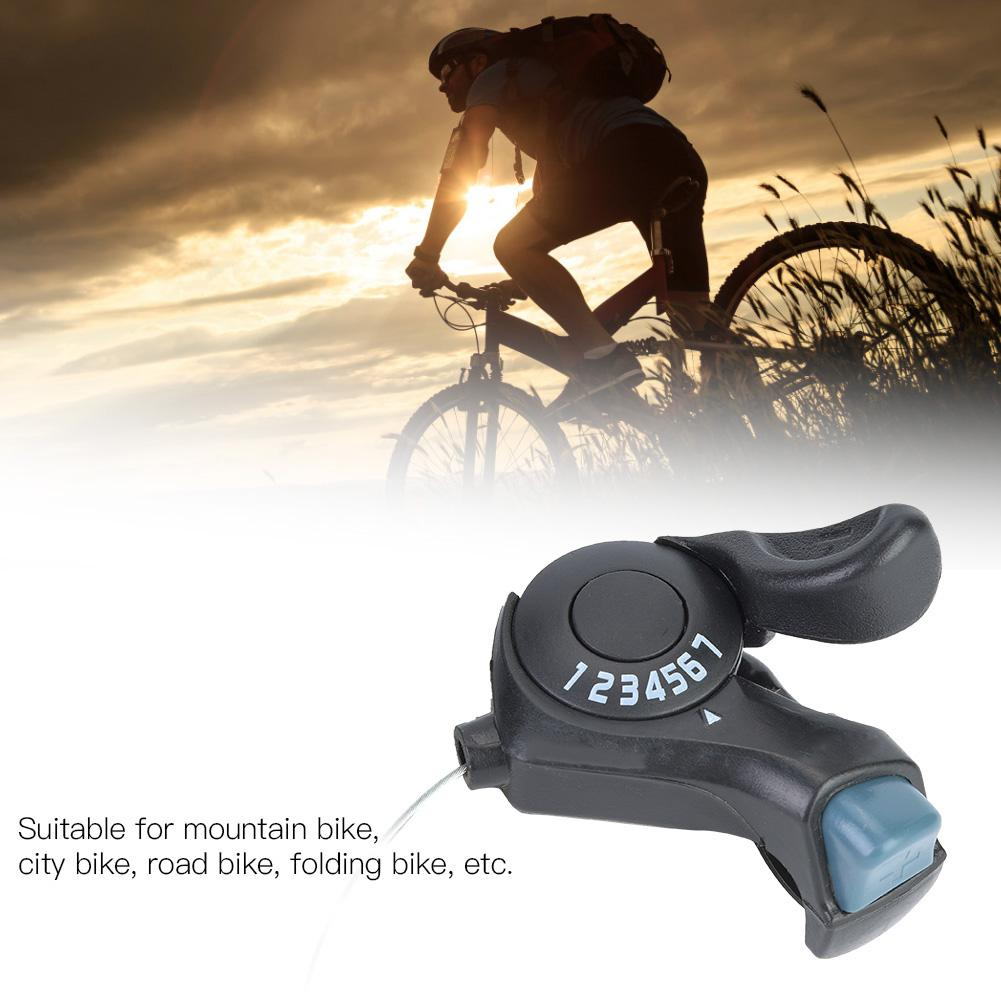 Belissy One Pair Outdoor Mountain Bicycle TX-30 Thumb Three Shifters 3x7 velocit/à leva del cambio e set