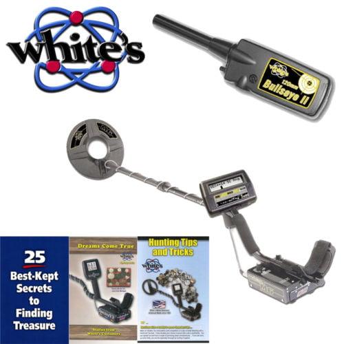 Whites M6 Metal Detector w/ Bullseye II Pinpointer