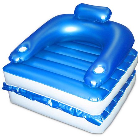 Chair n chaise floating lounge for Floating fishing chair