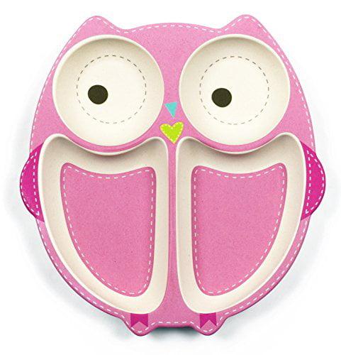TINY FOOTPRINT OWL PLATE 2 PACK