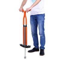 Pogo Stick,Pogo Jumper Outdoor Fun Jumping Stick Double Bar Sport Toy For Children Ages 7-12 & Up,Blue