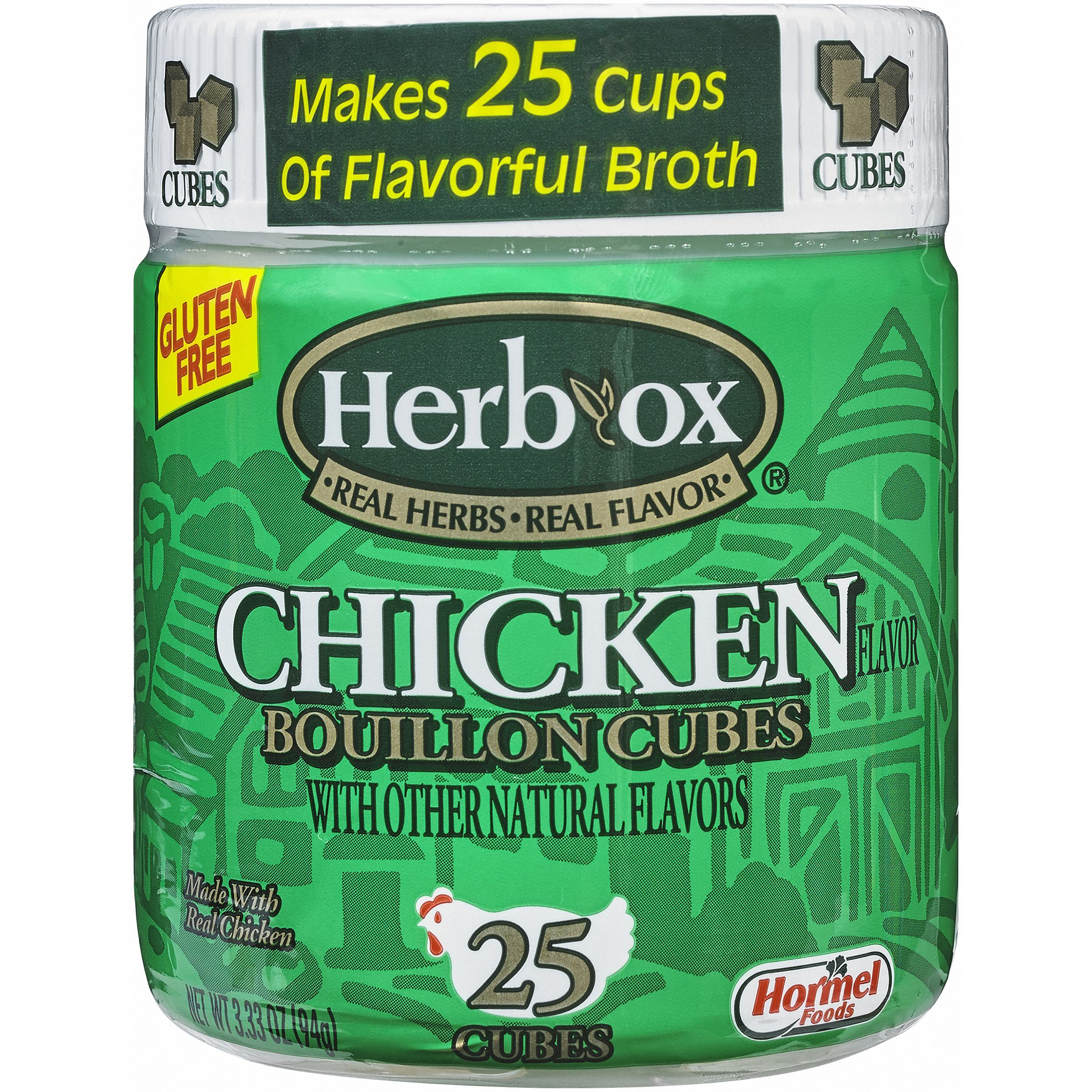 Herb-Ox Chicken Bouillon Cubes, 25 count, 3.33 oz