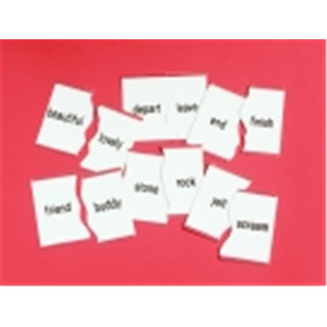 Didax Synonym Matching Puzzle Card Set, Set 30