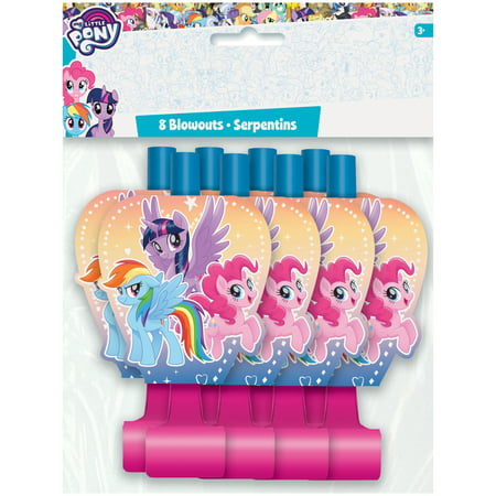 My Little Pony Party Blowers, 8ct](My Little Pony Party Bags)