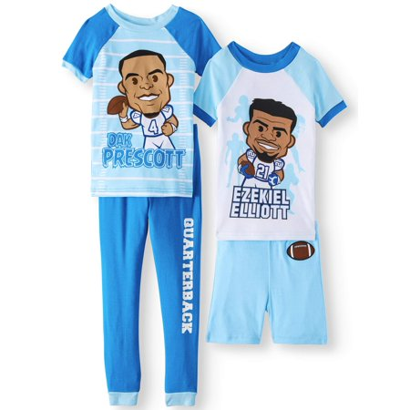 d5834204098 Komar Kids - Dallas Cowboys Ezekiel Elliott and Dak Prescott Pajamas ...