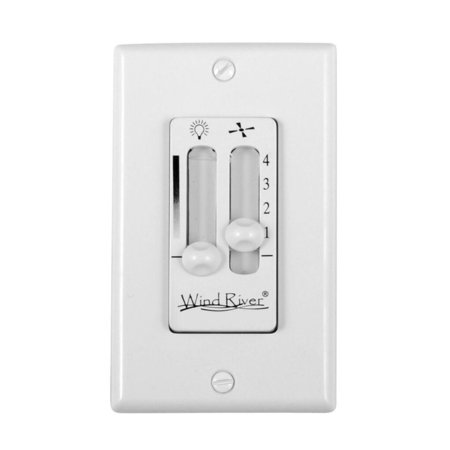 Wind River WSC4402 Dual Fan and Light Wall Control - Original Fan Light Wall