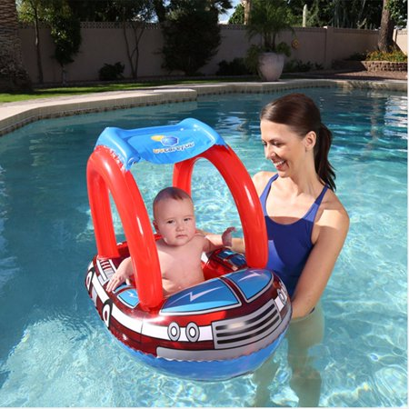 31 5 Quot 23 Quot Baby Inflatable Swim Float Boat Car Swimming