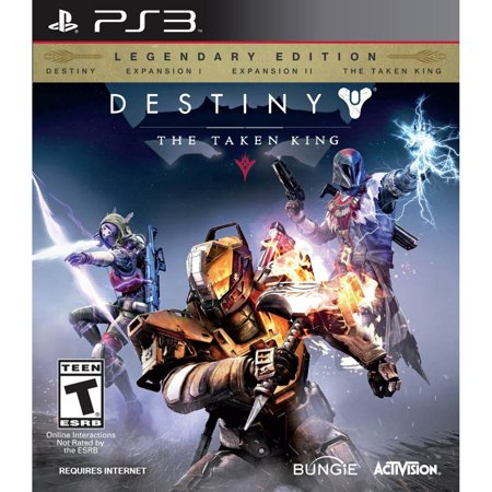 Refurbished Activision Destiny  The Taken King   Legendary Edition  Ps3    Video Game