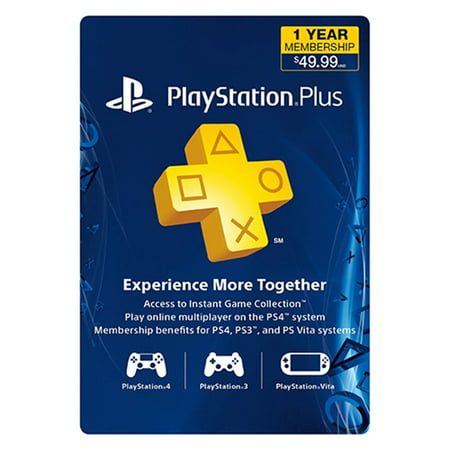 Ps3   Ps4   Subscription Card   Psn Live   12 Month Membership   Ps3 Ps4 Psvita Compatible  Sony