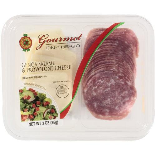 Daniele Gourmet On-The-Go Genoa Salame & Provolone Cheese, 3 oz