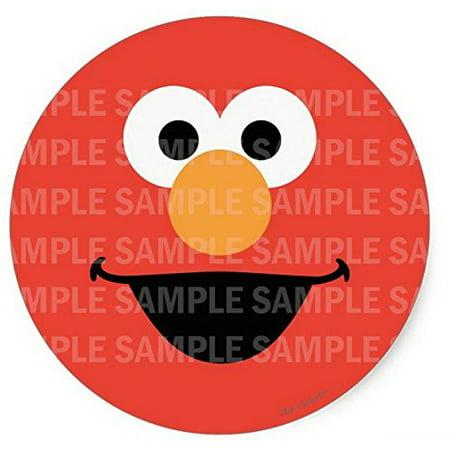 Elmo Birthday Cake Edible Image : Sesame Street Elmo Face Birthday Edible Image Photo 8 ...