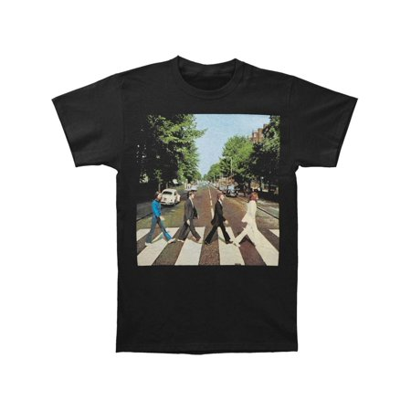 Beatles Men's  Abbey Road T-shirt Heather Gray - Beatles Outfit