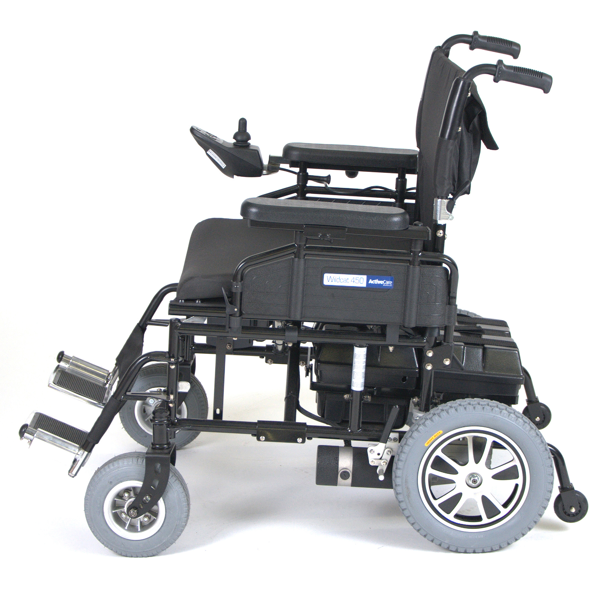 Drive Medical Wildcat 450 Heavy Duty Folding Power Wheelchair 24