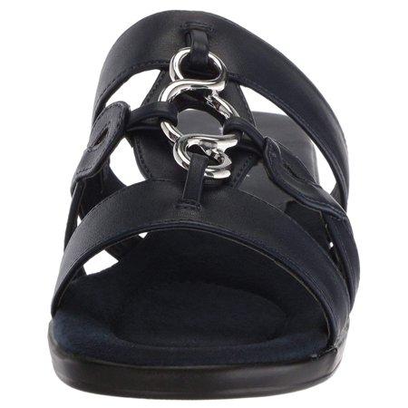 351d9560801 Easy Street Womens Torrid Open Toe Casual Slide Sandals