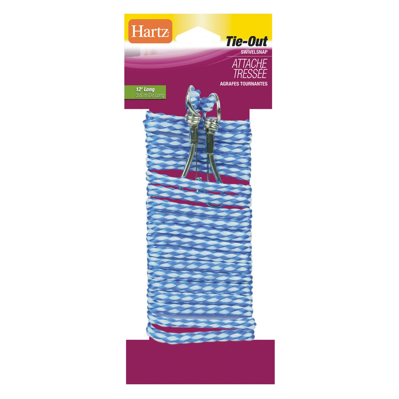 Hartz 84421 12' Living Braided Tie-Out