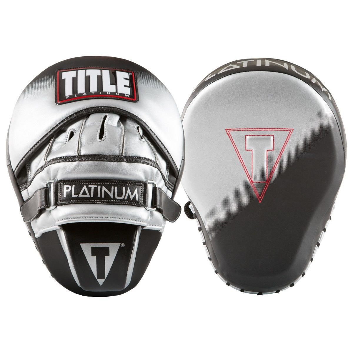 Title Boxing Platinum Proclaim Power Punch Mitts by