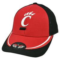 low priced 6855b 3abe9 Product Image NCAA Nickel Unbrush Curved Bill Adjustable Cincinnati  Bearcats Hat Cap