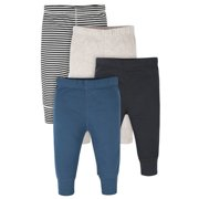 Onesies® Brand Baby Boys Pants, 4-Pack