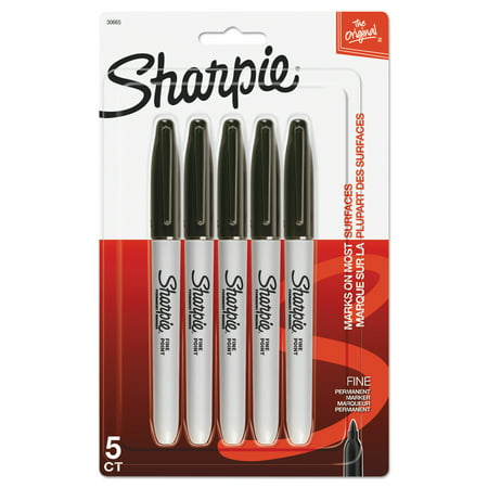 Sharpie 4pk Permanent Marker Black
