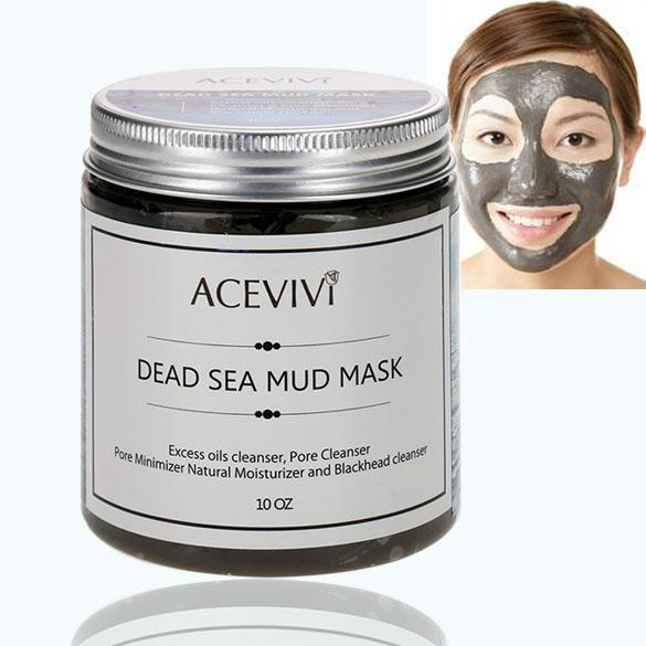 Deep Cleaning Skin Care Blackhead Remover Canned Dead Sea Mud Facial Mask Pore Cleanser Aphe