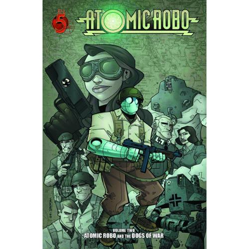 Atomic Robo Comic Book Vol. 2: Atomic Robo and the Dogs of War