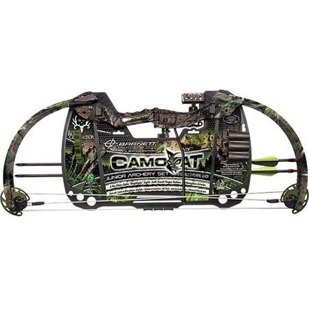 Barnett Camo Cat Compound Bow, Right Hand thumbnail