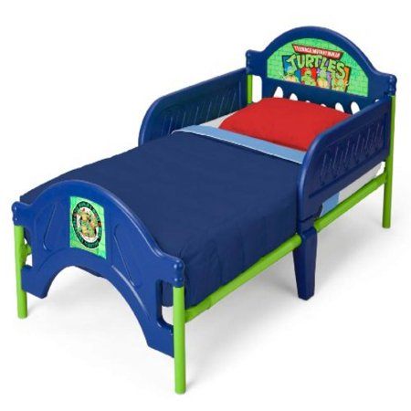 Delta Childrens Nickelodeon Ninja Turtles Toddler Bed