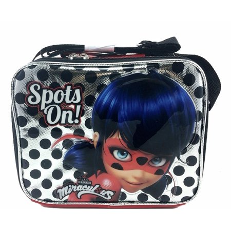 Nickelodeon Miraculous Ladybug Silver Insulated Lunch