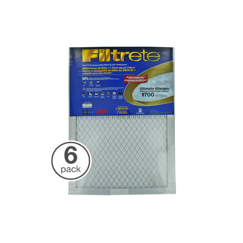 """Filtrete by 3M UA22DC-6 Ultimate Collection 20"""" X 30"""" X 1..."""