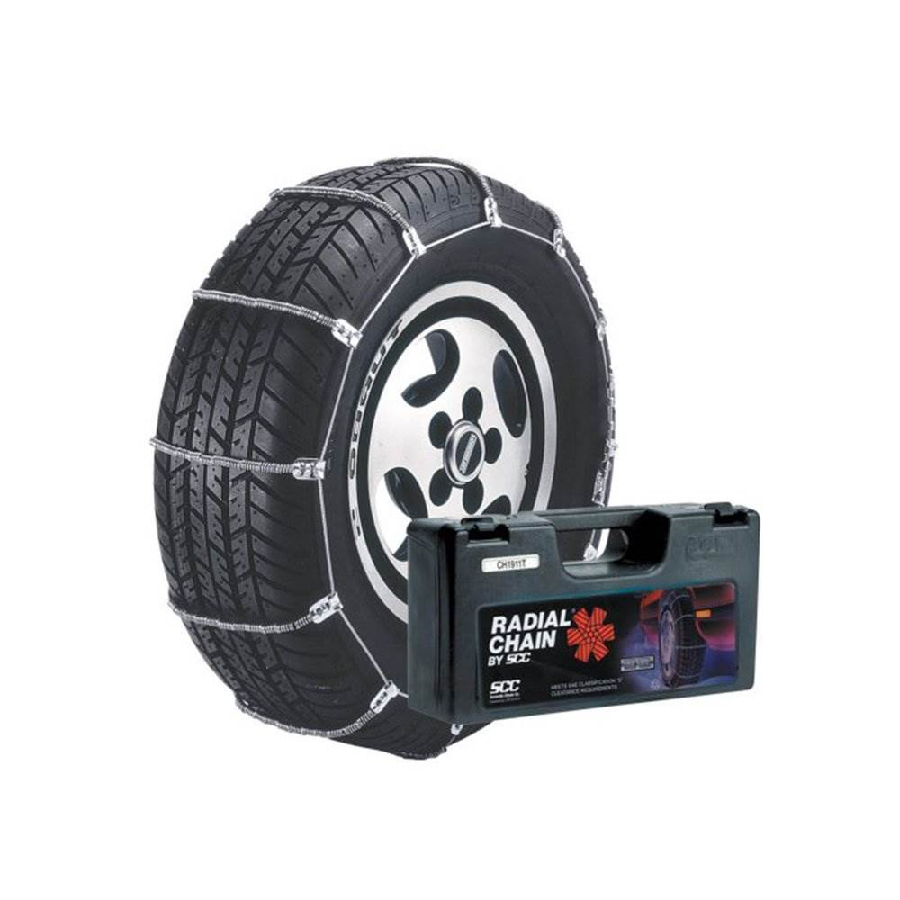 TireChain.com 195//50-15 195 50-15 A1022 Diagonal Cable Tire Chains Set of 2