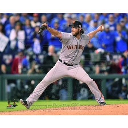 Madison Bumgarner Game 7 of the 2014 World Series Action Sports Photo