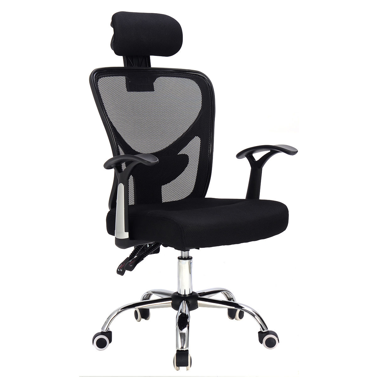Costway Ergonomic Mesh High Back Office Chair Computer Desk Task Executive with Headrest