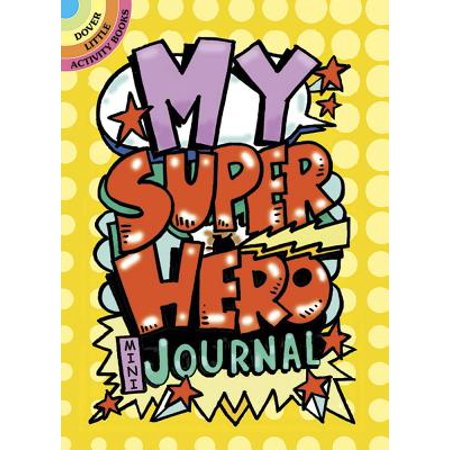 My Superhero Mini-Journal - Jesus Is My Superhero