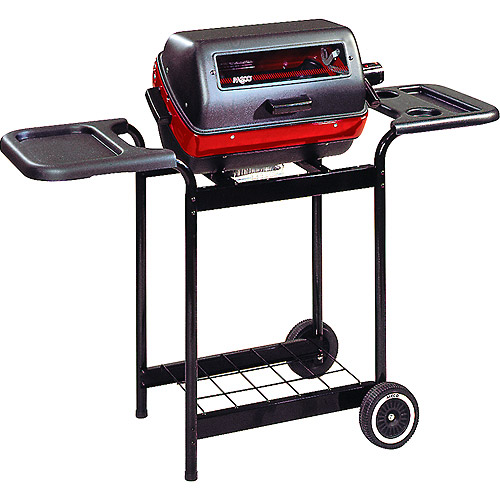 Meco 1500-Watt Deluxe Electric Grill with Side Tables by Easy Street