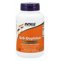 NOW Supplements, Gr8-Dophiluswith 8 Strains & 4 Billion Potency, Shelf Stable, 120 Veg Capsules