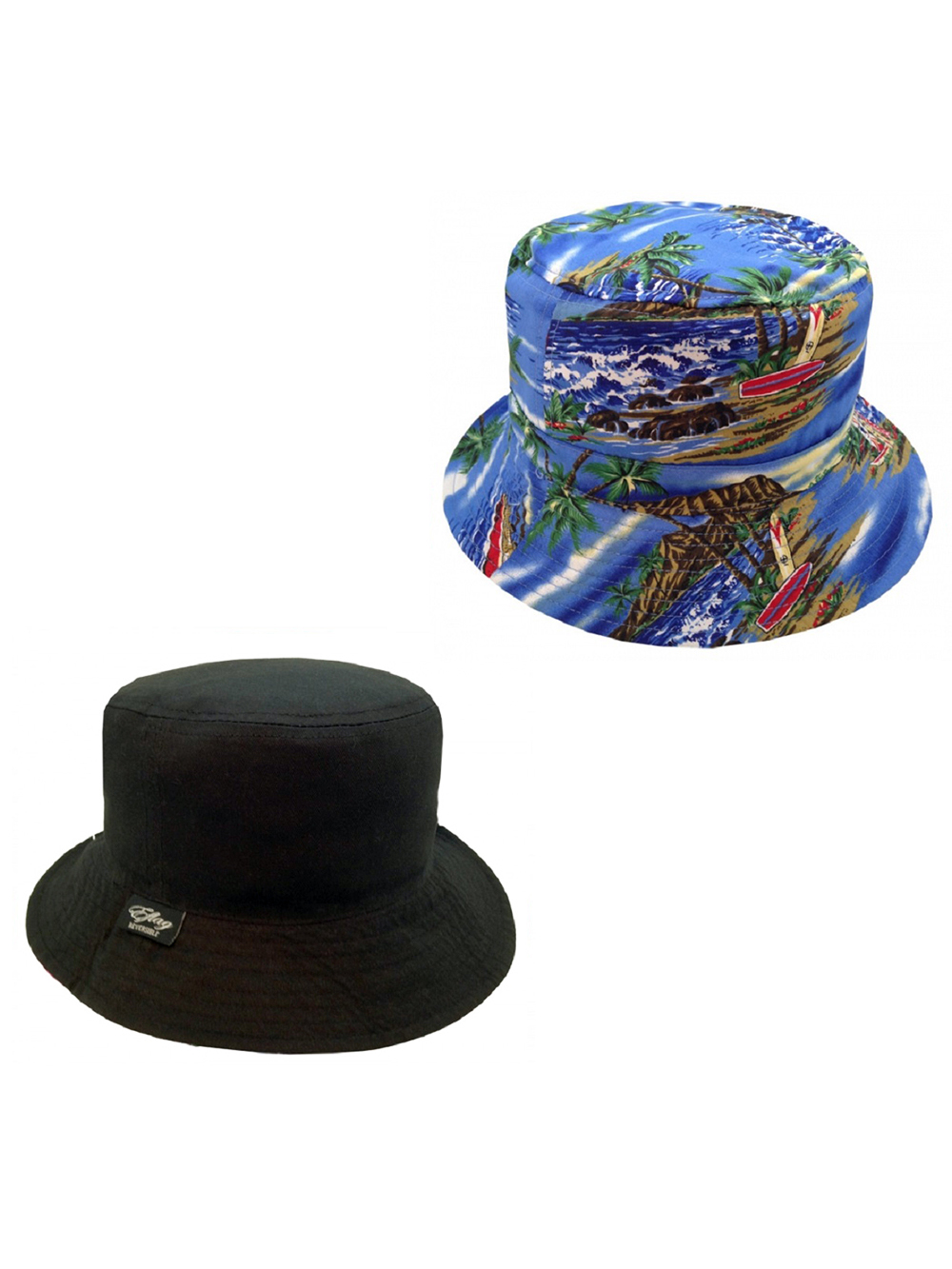Outdoors Reversible Bucket Hats Floral Tropical Vacation Hiking 18e7f188047
