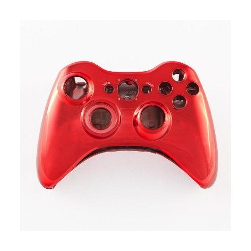 Red Chrome Custom Controller Shell for XBOX 360