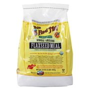 Bob's Red Mill - Organic Flaxseed Meal Whole Ground - 32 oz(pack of 4)