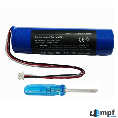 NTA2335 Battery for Logitech mm50 Portable Speaker System for (Fm Ipod Speaker System)