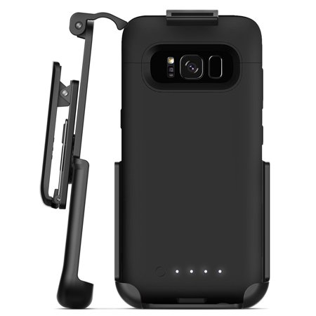 san francisco 2e246 fb1a7 Encased Belt Clip Holster for Mophie Juice Pack Battery Case - Samsung  Galaxy S8 Plus (case not included)