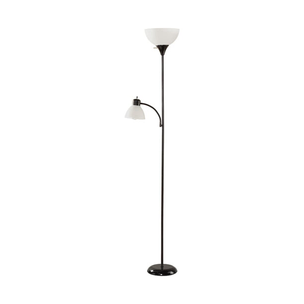 Mainstays Black Floor Lamp With Reading