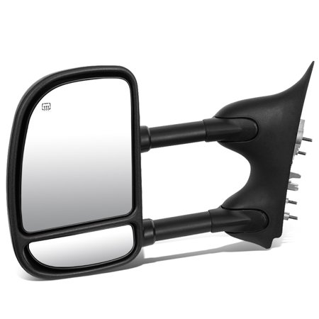 Ford Bronco Towing - For 1999 to 2007 Ford Super Duty Powered Adjustment+Heated Tow Towing Mirror (Left / Driver)