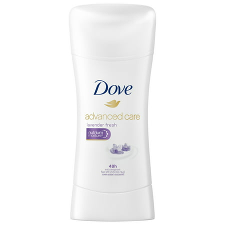 Dove Advanced Care Antiperspirant Deodorant Lavender Fresh 2.6 oz
