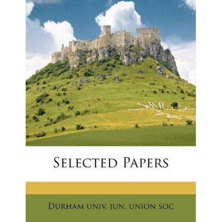 Selected Papers - image 1 of 1