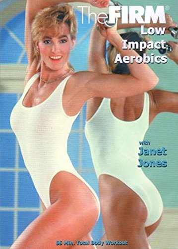 The FIRM DVD Classic 'Vol 2 Low Impact Aerobics' by Anna Benson with Janet Jones by