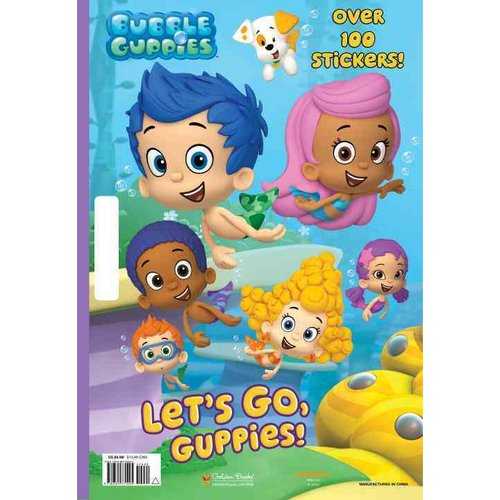 Let's Go, Guppies! Giant Coloring Book